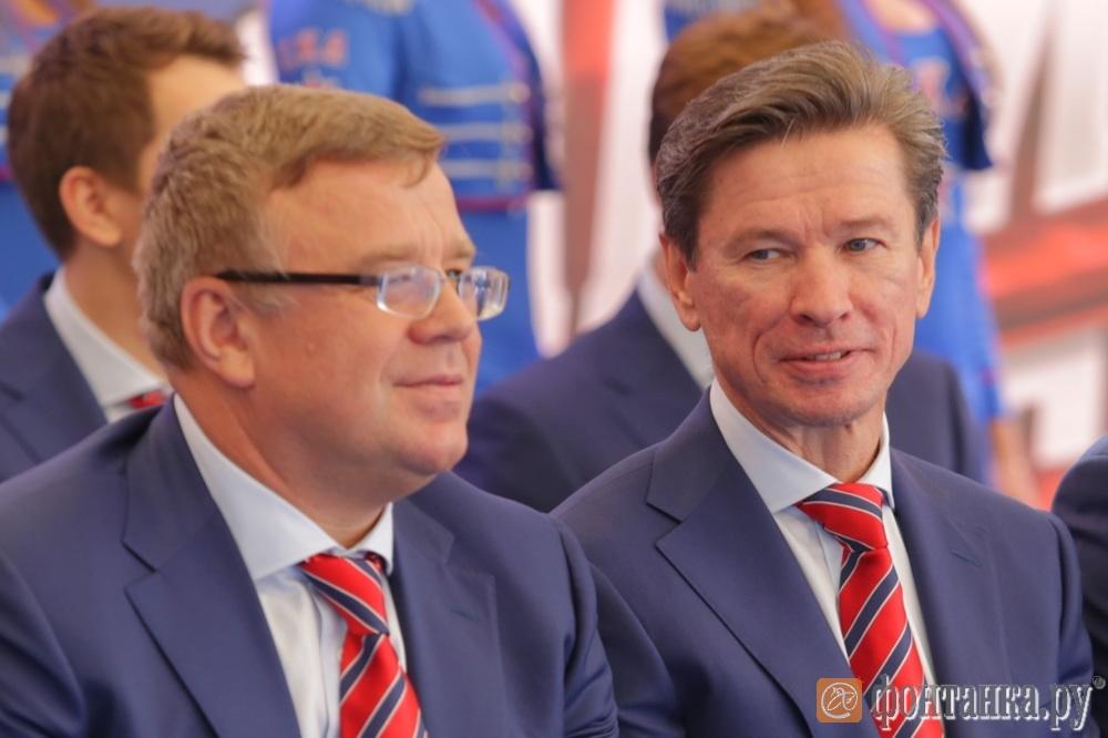 Игорь Захаркин и Вячеслав Быков