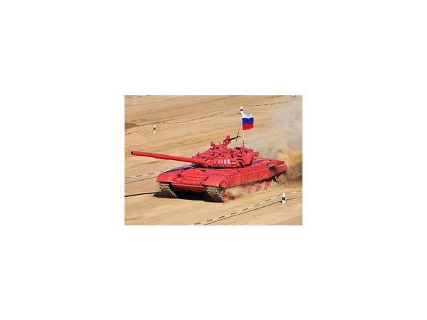 Россия по-прежнему лидирует на чемпионате по танковому биатлону