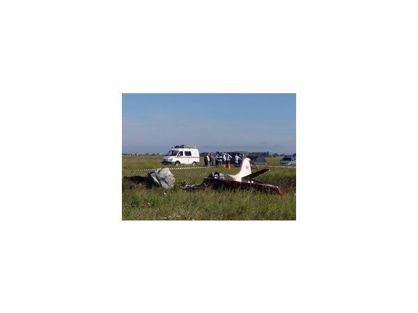Под Новосибирском разбился самолет Як-24