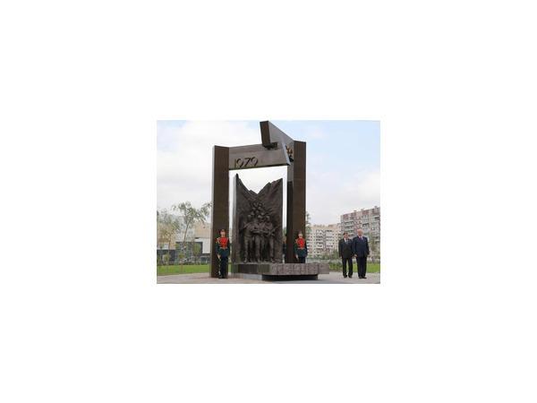 Память об Афгане увековечили в Невском районе
