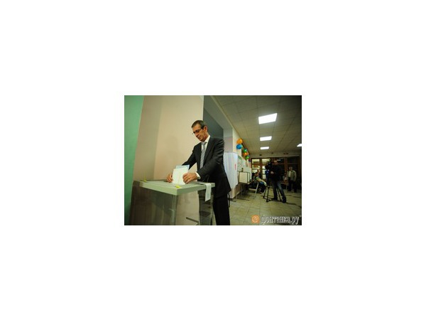 Тахир Бикбаев принял участие в голосовании