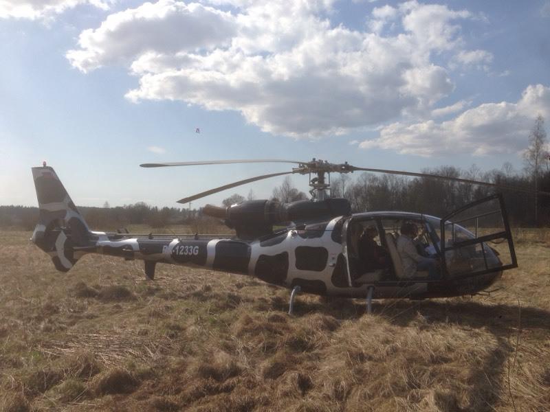 Вертолет Алексея Афончикова