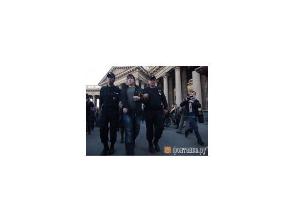 На  «Марше мира» первые задержания