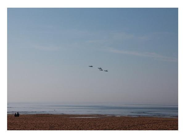 Читатели: Над Сестрорецком пролетела эскадрилья вертолетов