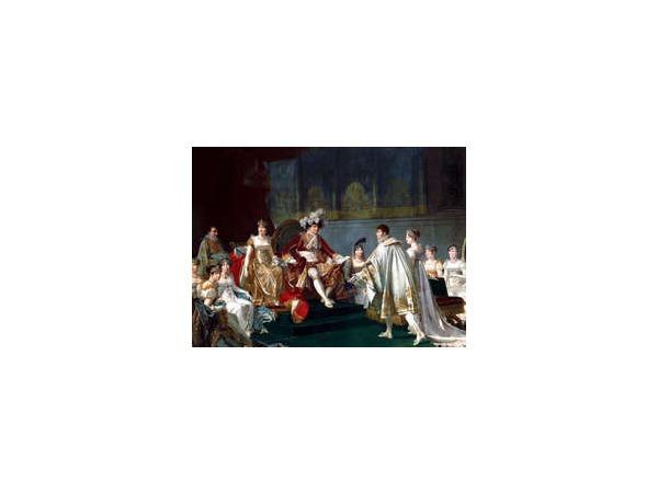 На аукционе во Франции был продан брачный договор Наполеона и Жозефины Богарне