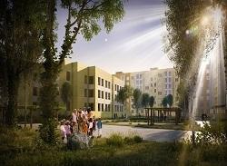 Так, по замыслу строителей, будет выглядеть школа