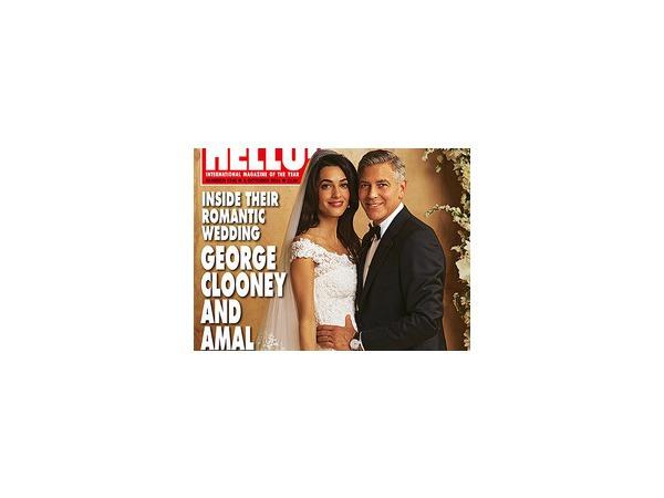 Свадьба Клуни и Аламуддин: появились первые официальные фотографии