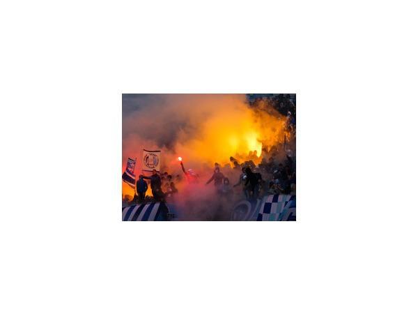 Фанаты «Зенита» отстояли вираж