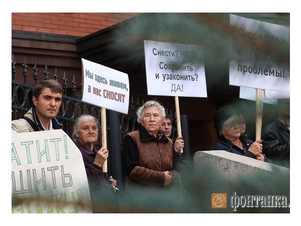 Жители «Никитинской усадьбы» дали Полтавченко наказ