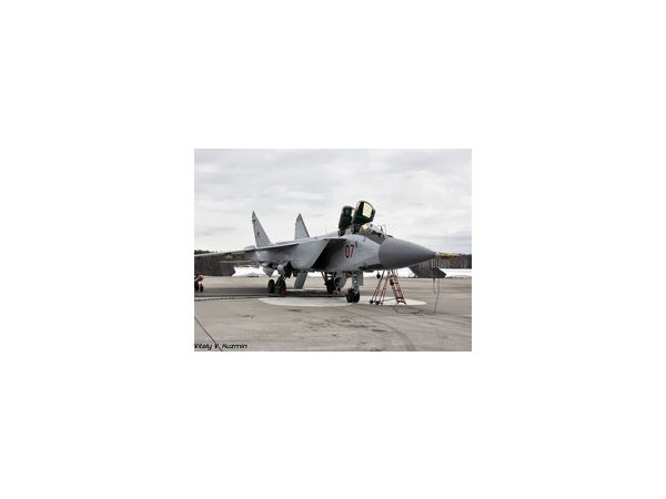 Истребитель-перехватчик МиГ-31 разбился недалеко от Армавира