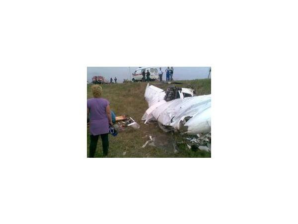 В результате крушения самолета в Белгородской области погиб один человек