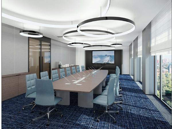 Как будут выглядеть кабинеты топ-менеджеров ВТБ в «Невской ратуше»