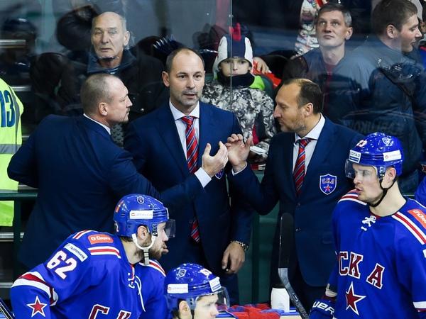 Зубов начал в СКА с победы под присмотром Знарока