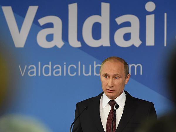 """Владимир Путин, """"Война и мир"""""""