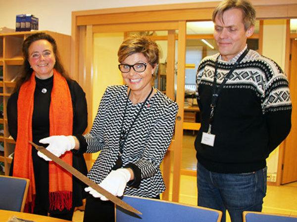 В Норвегии путешественник обнаружил меч викингов