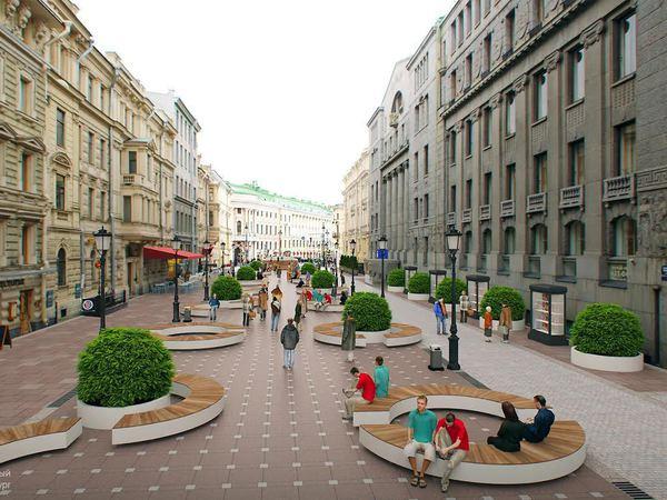 Активисты предложили концепцию благоустройства Большой Морской улицы