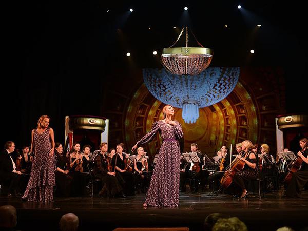 Мюзик-холл и Елена Бадмаева объединили Чайковского с искусством костюма