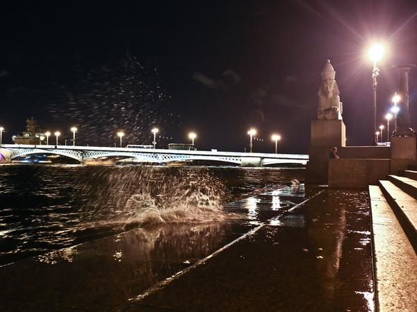 """""""Aqua Alta"""" и другие последствия шторма в Петербурге"""