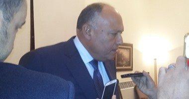 министр Самех Шукри