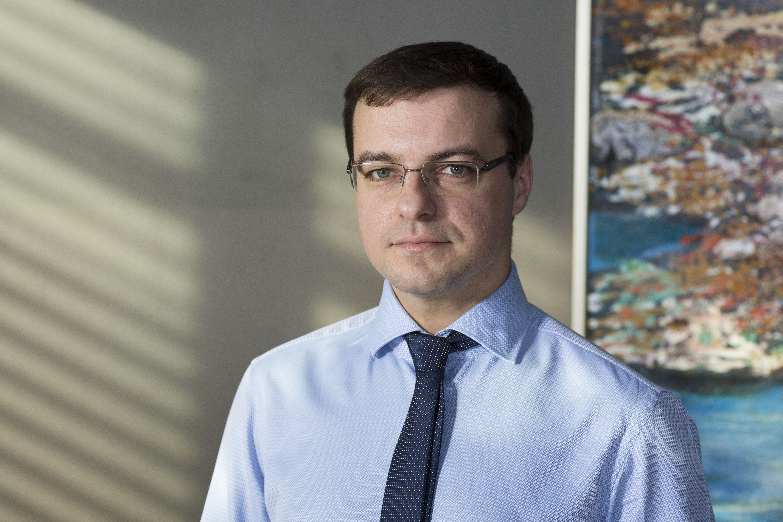 Руслан Стецюк - первый вице-президент банка Rietumu