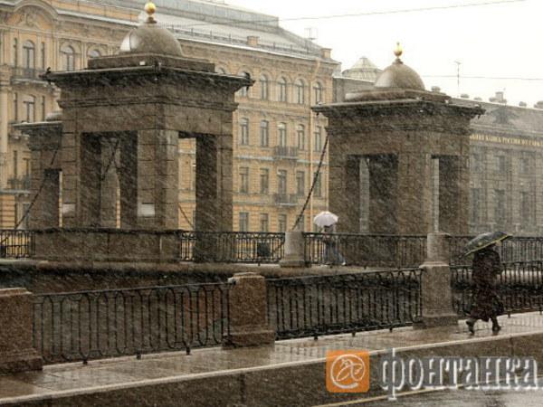 На следующей неделе в Петербурге пойдет снег