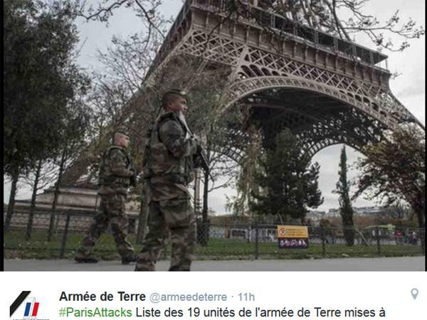 Полиция Франции проводит масштабный рейд против террористов