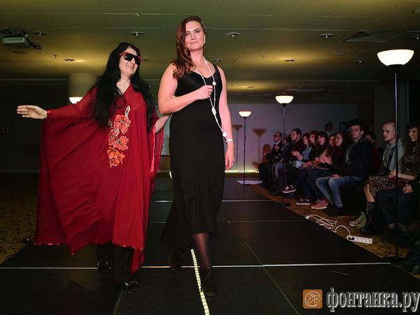 В Петербурге представили новые коллекции одежды для слабовидящих