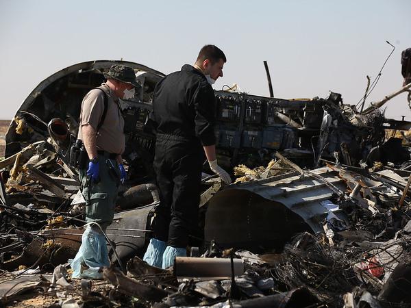 Самолет над Синаем взорвали террористы