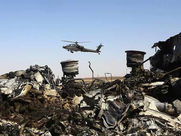 Крушению А321 в Египте дали статус Локерби