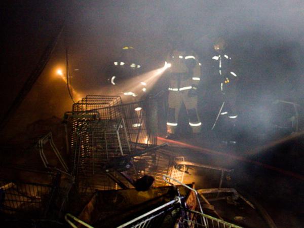 """Основной версией пожара в """"Окее"""" считается поджог"""