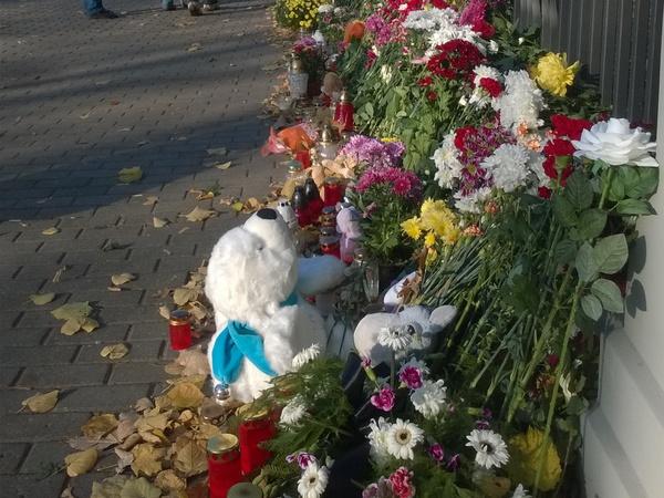 Латвийцы скорбят о погибших в авиакатастрофе вместе с Россией