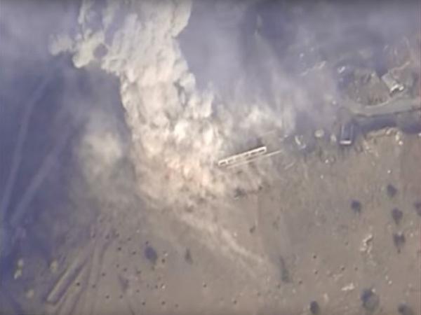 ВКС России разбомбили лагерь подготовки террористов под Алеппо