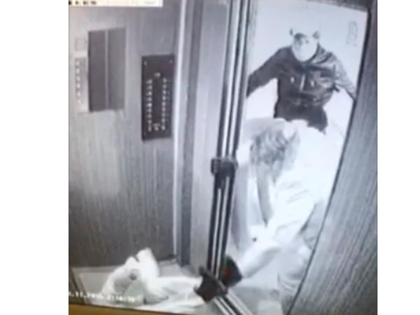 Видеозапись нападения на правозащитника Холодова