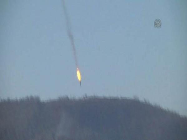 Сбитый на границе Сирии истребитель, возможно, нарушил воздушное пространство Турции