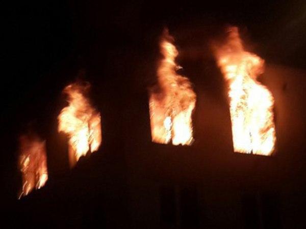 Взрыв на Красногвардейской площади попал на видео