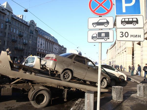 Особенности штрафной эвакуации в Петербурге