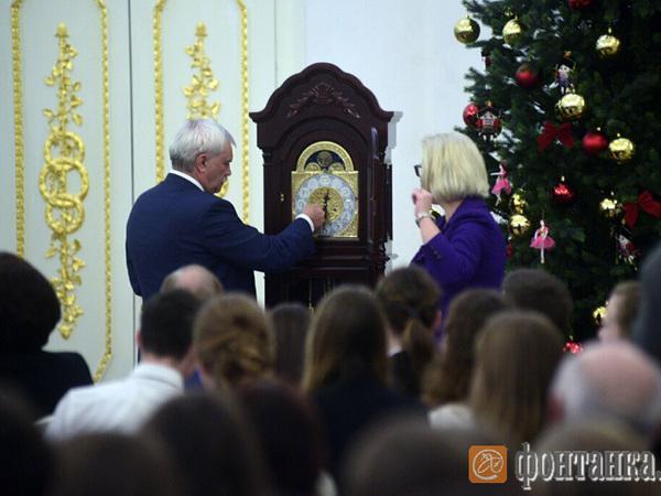 Полтавченко открыл в Каменноостровском дворце Академию талантов для школьников