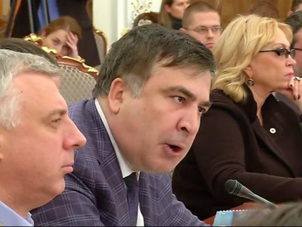 Арсен Аваков обнародовал видео перепалки с Саакашвили