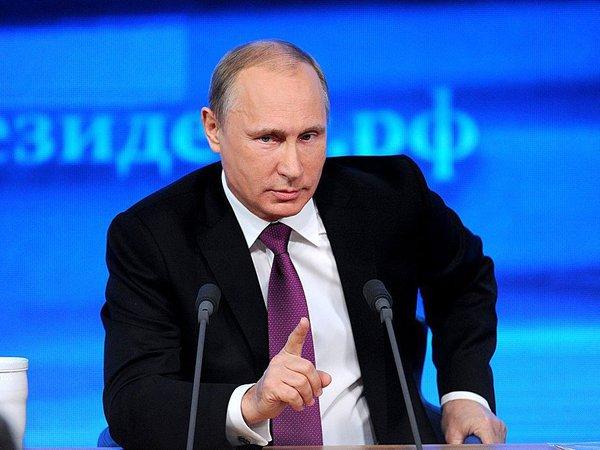 Пресс-конференция Путина онлайн