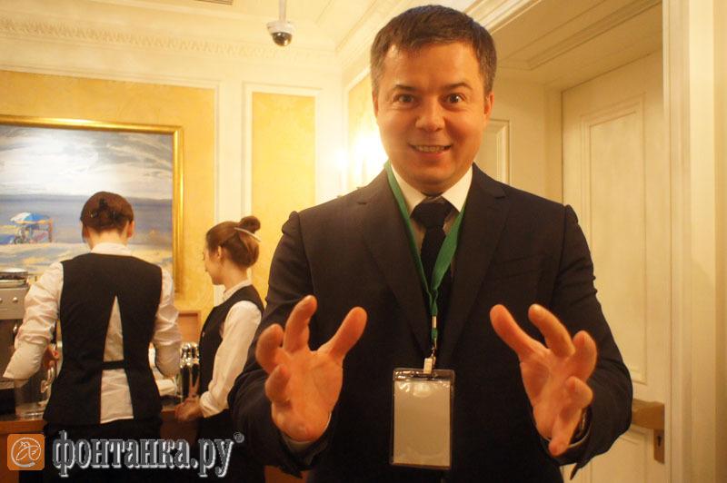 Юрий Грудин, гендиректор петербургского направления ГК «Пионер»