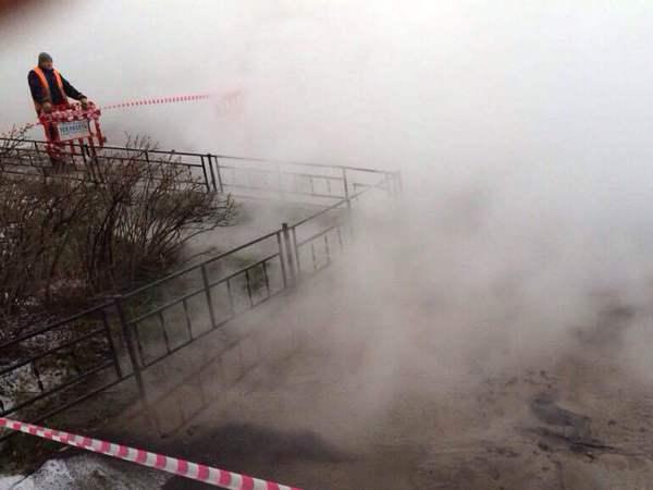 Жительница дома на Кораблестроителей обварилась в результате прорыва трубы