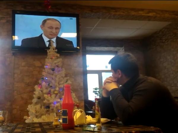 Дальнобойщики не услышали о «Платоне» в послании Путина и начали собираться в колонны из фур