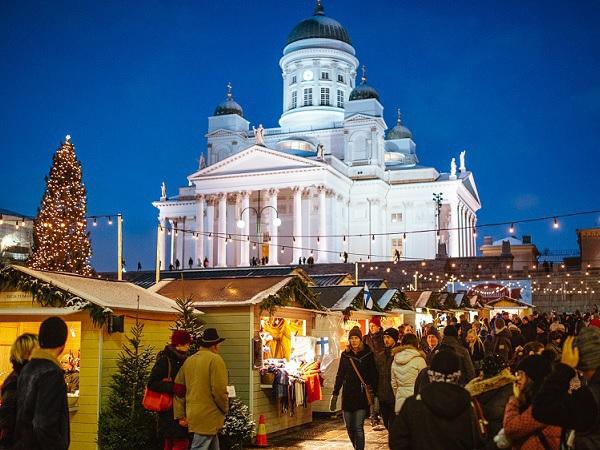Европейское Рождество трёх балтийских столиц