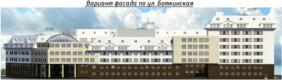 Минобороны начало демонтаж зданий на Боткинской для строительства многопрофильной клиники (Иллюстрация 3 из 3) (Фото: АО