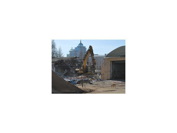 Минобороны начало демонтаж зданий на Боткинской для строительства многопрофильной клиники