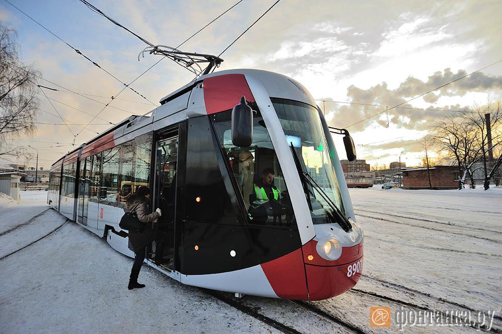 """Трамвай российско-французского консорциума Alstom и """"Трансмашхолдинга"""""""