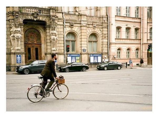 Петербург поедет «На работу на велосипеде»