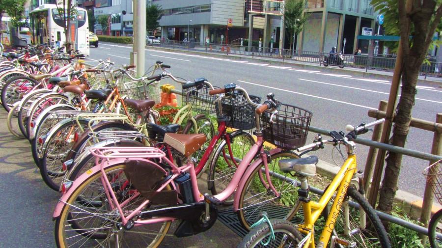 Велосипеды в Токио