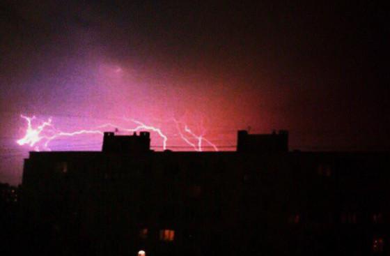 Гроза, прогремевшая в Петербурге 6 августа