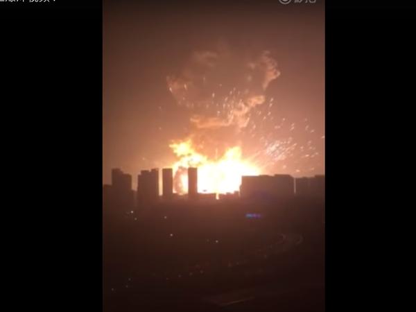 СМИ:  взрыв мог произойти в хранилище газа